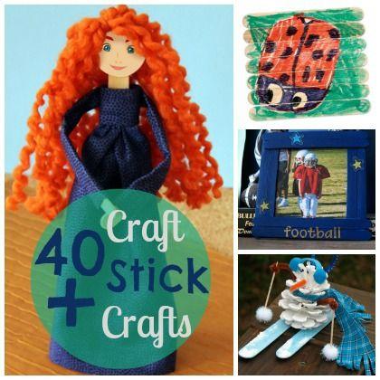 40+ Craft Stick Creations